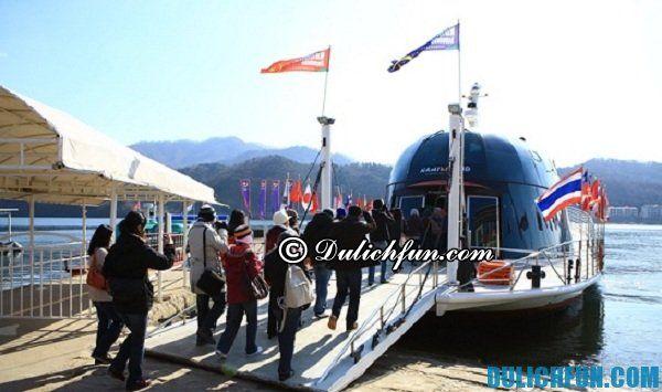Hướng dẫn và kinh nghiệm du lịch đảo Nami Hàn Quốc tự túc, tiết kiệm- phương tiện di chuyển tới đảo Nami