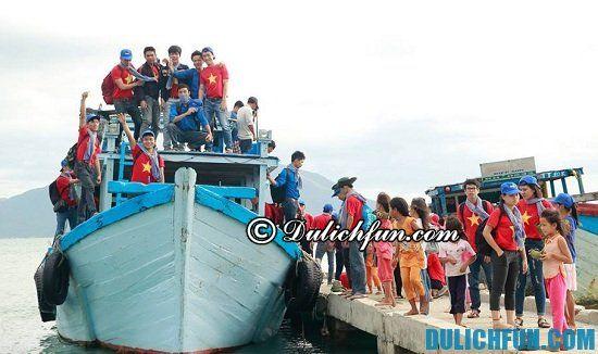 Phương tiện du lịch tới đảo Điệp Sơn. Hướng dẫn cách di chuyển tới điểm du lịch đảo Điệp Sơn