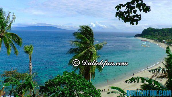Puerto Galera, địa điểm du lịch nổi tiếng hấp dẫn ở Philippines. Địa danh du lịch đẹp ở Philippines