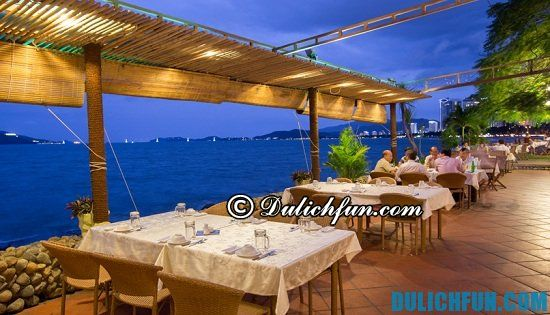 Quán ăn, nhà hàng ở Nha Trang view đẹp giá rẻ nổi tiếng