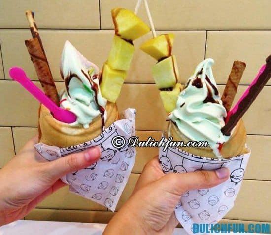 Quán kem ngon nổi tiếng ở Hà Nội: ăn kem ở Hà Nội chỗ nào ngon nhất