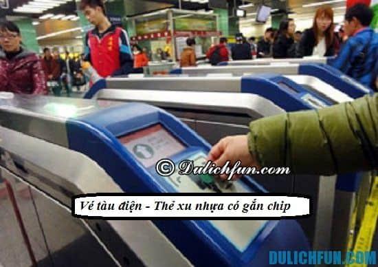 Kinh nghiệm đi tàu điện ngầm du lịch Quảng Châu: Di chuyển bằng tàu điện ngầm khi du lịch Quảng Châu như thế nào?