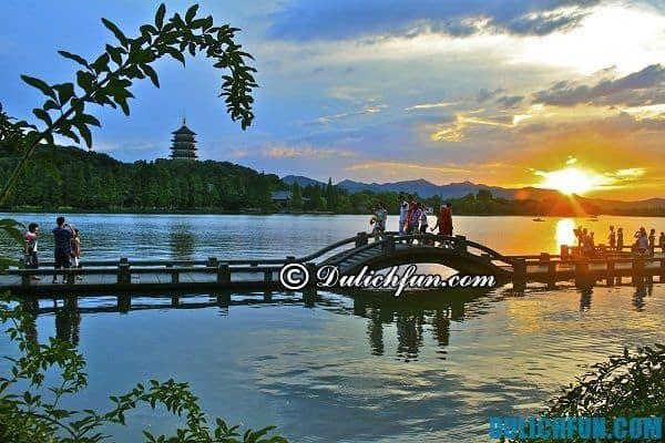 Điểm du lịch đẹp ở Hàng Châu - Du lịch Hàng Châu nên đi đâu chơi?