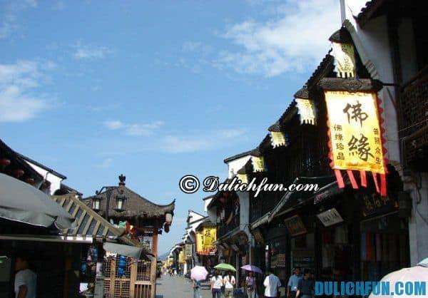 Điểm du lịch đẹp ở Hàng Châu. Du lịch Hàng Châu nên đi đâu?