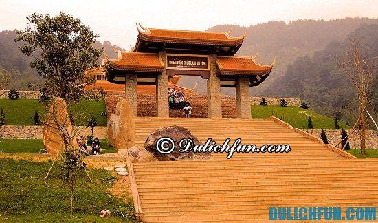 Hướng dẫn du lịch Tây Thiên - địa điểm đẹp, nổi tiếng ở Tây Thiên
