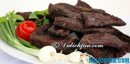 Thịt trâu gác bếp, một món ngon Tuyên Quang: Đặc sản Tuyên Quang thơm ngon nổi tiếng