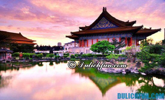 Kinh nghiệm du lịch Đài Loan - thời điểm đẹp nhất