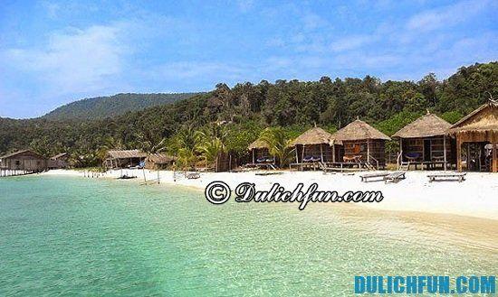 Thời điểm nào đẹp nhất nên đi du lịch Koh Rong Samloem? Kinh nghiệm du lịch koh rong samloem vui vẻ, thú vị
