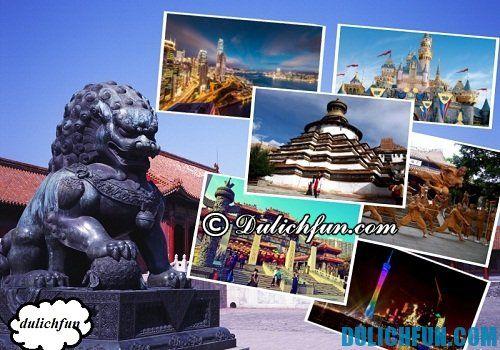 Thủ tục xin visa - giấy thông hành du lịch Trung Quốc. Kinh nghiệm xin visa du lịch Trung Quốc. Du lịch Trung Quốc có cần visa không?
