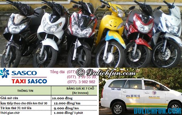 Thông tin về taxi, thuê xe máy ở Phú Quốc. Thông tin hữu ích khi du lịch Phú Quốc