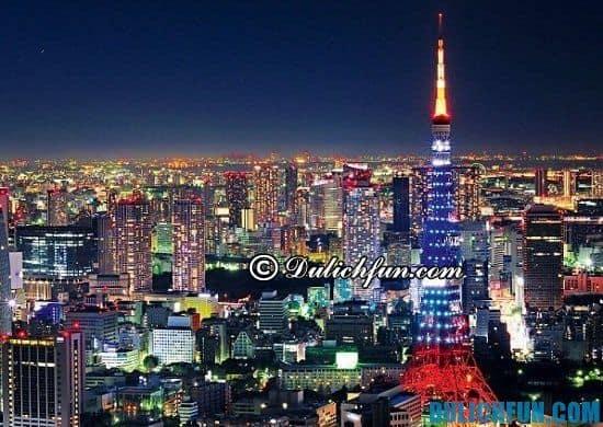 Tổng hợp kinh nghiệm du lịch Tokyo, Nhật Bản đầy đủ, chi tiết nhất