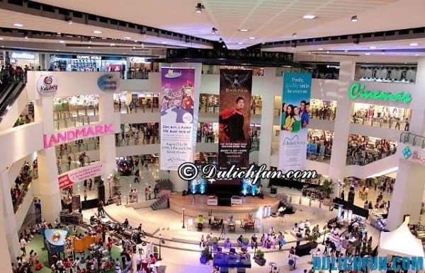 Trung tâm thương mại ở Manila, khu vực mua sắm giá rẻ Manila, Kinh nghiệm du lịch Manila Philippines