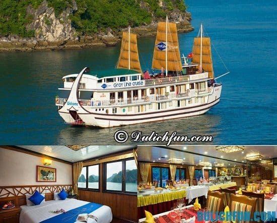 Tư vấn khách sạn nghỉ dưỡng cao cấp ở Tuần Châu: Thuê du thuyền đi du lịch Tuần Châu