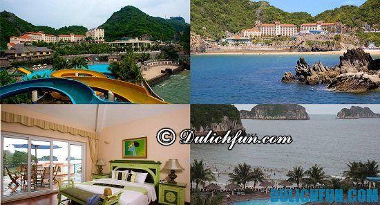 Tư vấn khách sạn, resort nghỉ dưỡng cao cấp ở Cát Bà lý tưởng nhất: Nên nghỉ dưỡng ở đâu khi đến Cát Bà du lịch