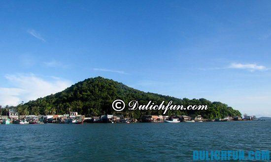 Tư vấn lộ trình vui chơi du lịch quần đảo Bà Lụa chi tiết