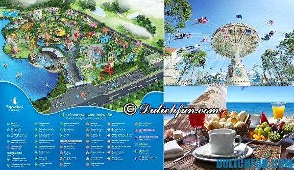 Điểm vui chơi giải trí ở Phú Quốc. Du lịch Phú Quốc nên đi đâu?