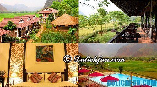 Kinh nghiệm du lịch Mai Châu tự túc - nhà nghỉ, khách sạn.