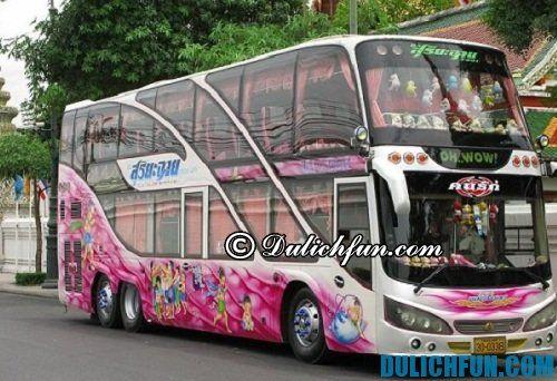 Hướng dẫn du lịch Phuket: Phương tiện di chuyển ở Phuket