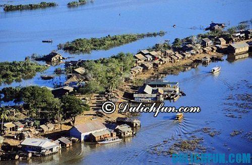 Hướng dẫn du lịch những địa điểm hấp dẫn ở Siem Reap: biển Hồ ở Siem Reap