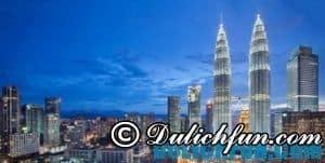 Những địa điểm du lịch ở Kuala Lumpur hấp dẫn, lý tưởng: tháp đôi Petronas