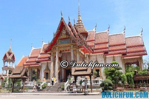 Du lịch Phuket nên làm gì, vui chơi ở đâu? những địa điểm tham quan hấp dẫn ở Phuket