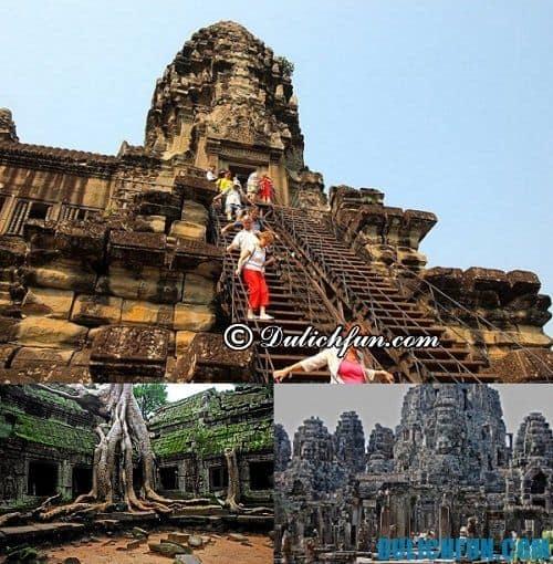 Những địa điểm du lịch ở Siem Reap: di sản văn hóa thế giới Angkor