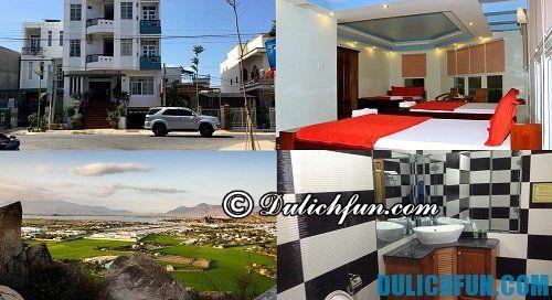 Khách sạn, nhà nghỉ bình dân, giá rẻ, tiện đường ở Ninh Thuận