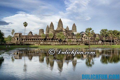 Hướng dẫn du lịch khám phá Angkor Wat