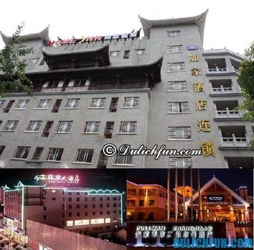 Kinh nghiệm du lịch Trương Gia Giới tự túc, giá rẻ: khách sạn ở Trương Gia Giới giá rẻ, tiện nghi, vị trí thuận tiện
