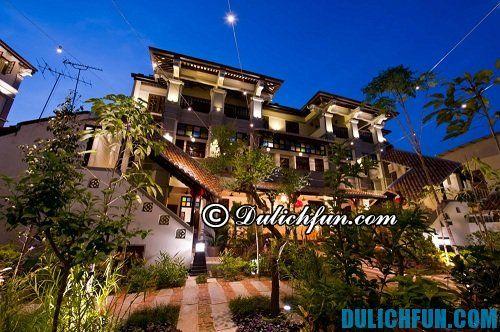 Kinh nghiệm du lịch Penang: Những địa chỉ nghỉ ngơi ở Penang giá rẻ, tiện nghi, an toàn