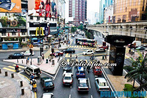 Hướng dẫn, kinh nghiệm mua sắm ở Kuala Lumpur giá rẻ, chất lượng: địa chỉ những khu mua sắm sầm uất ở Kuala Lumpur