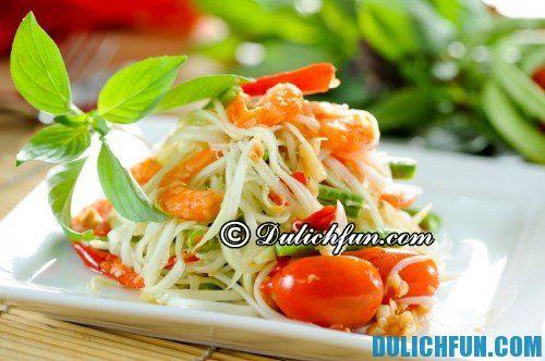 Kinh nghiệm ăn uống ở Bangkok - Món ăn đặc trưng