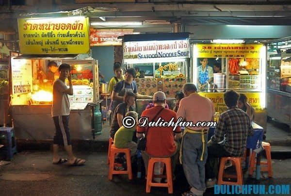 Du lịch Bangkok - Địa chỉ ăn uống ngon rẻ ở Bangkok
