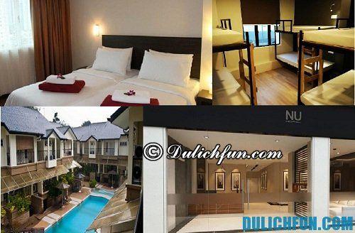 Kinh nghiệm du lịch Kuala Lumpur chi tiết, đầy đủ: khách sạn ở Kuala Lumpur