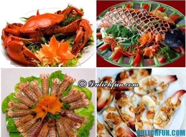 Hướng dẫn du lịch Cửa Lò - món ăn ngon nổi tiếng ở Cửa Lò: Kinh nghiệm ăn uống khi du lịch Cửa Lò