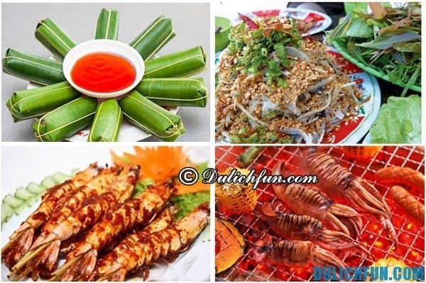 Hướng dẫn du lịch Sầm Sơn - món ăn ngon nổi tiếng