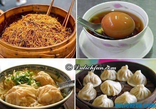 Kinh nghiệm du lịch Thượng Hải - món ăn ngon nổi tiếng ở Thượng Hải: Du lịch Thượng Hải nên ăn gì ?