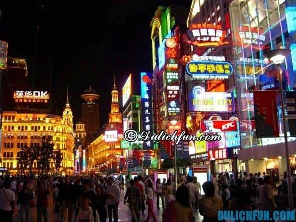 Hướng dẫn du lịch Thượng Hải - kinh nghiệm mua sắm