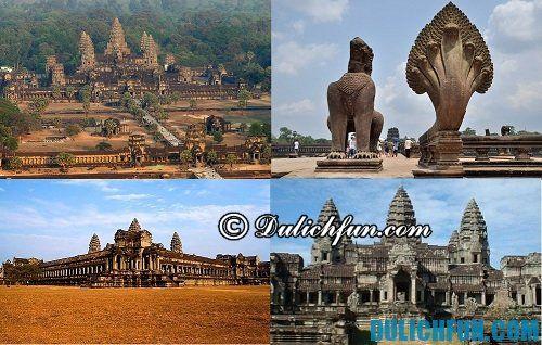Hướng dẫn du lịch khám phá Angkor Wat chi tiết, cụ thể nhất: đền Angkor Wat nổi tiếng