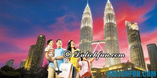 Kinh nghiệm mua sắm giá rẻ ở Kuala Lumpur