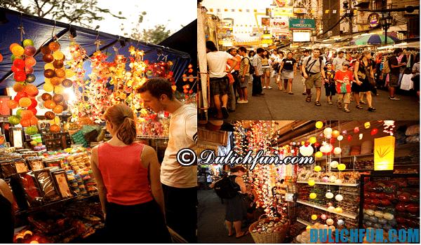 Kinh nghiệm mua sắm ở Thái Lan - chợ Chatuchak