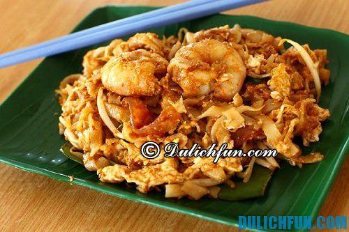 Những món ăn đặc trưng ở Kuala Lumpur ngon, nổi tiếng