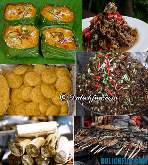 Du lịch Siem Reap: những món ăn đặc trưng ở Siem Reap ngon, hấp dẫn, độc đáo