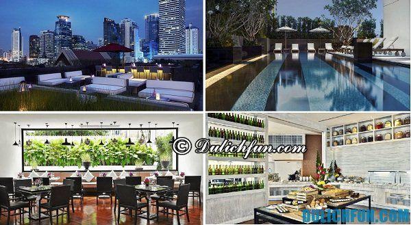 Đặt phòng khách sạn ở Bangkok - khách sạn chất lượng tốt, tiện nghi