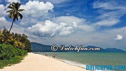 Hướng dẫn du lịch Penang tự túc, trọn gói: những bãi biển đẹp của Penang
