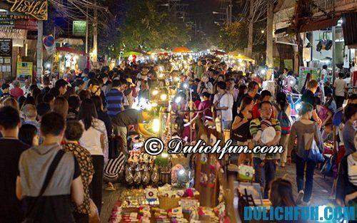 Du lịch Chiang Mai mua sắm ở đâu giá rẻ, lý tưởng: mua sắm ở phố đi bộ