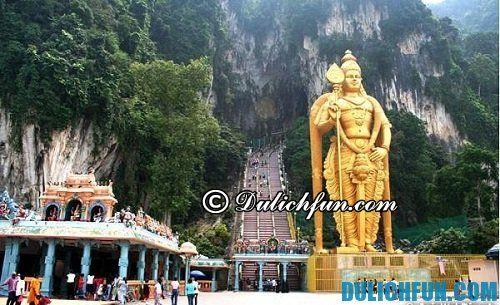 Những địa điểm du lịch ở Kuala Lumpur hấp dẫn, không nên bỏ qua: động Batu