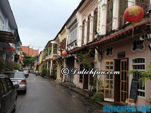 Những địa điểm du lịch đẹp, cổ kính của Phuket