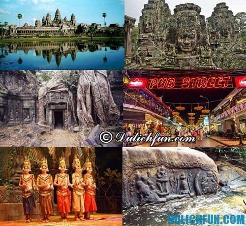 Tổng hợp kinh nghiệm du lịch Siem Reap chi tiết, trọn gói: địa điểm du lịch hấp dẫn ở Siem Reap
