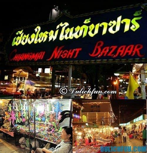 Mua sắm ở Chiang Mai giá rẻ chất lượng: Chợ đêm Bazaar
